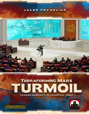 Affiche Terraforming Mars : Turmoil