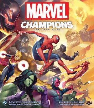 Affiche Marvel Champions: le jeu de cartes