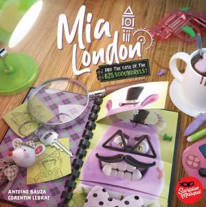 affiche Mia London Et L'Affaire Des 625 Fripouilles !