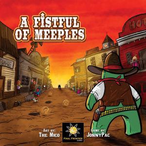 Affiche Pour une poignée de Meeples
