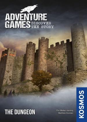 Affiche Adventure Games. Le donjon