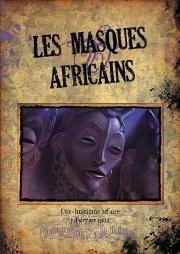 Affiche Sherlock Holmes:Les Masques Africains