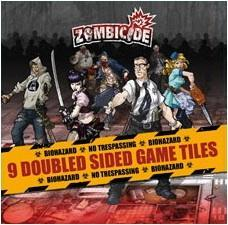 Affiche Zombicide: Game Tiles