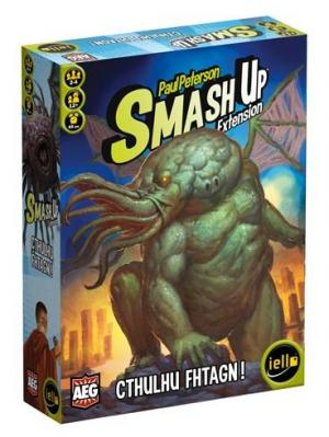 Affiche Smash Up: Cthulhu Fhtagn !