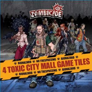 Affiche Zombicide: Toxic City Mall Game Tiles