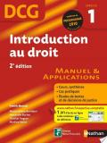 Introduction au droit - 2e édition - DCG - Épreuve 1 - Manuel et Applications