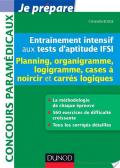 Entraînement intensif aux tests d'aptitude IFSI - Planning