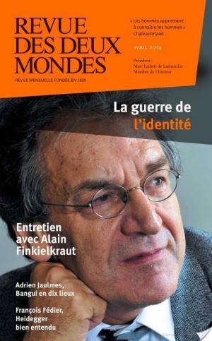 Affiche Revue des Deux Mondes avril 2014