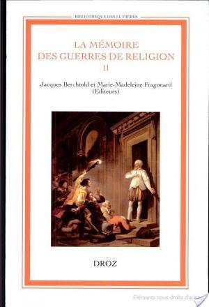 Affiche La memoire des guerres de religion