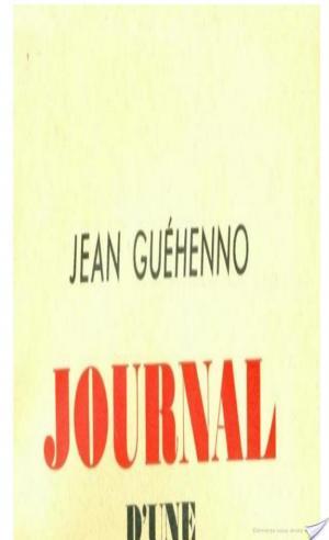 Affiche Journal d'une révolution