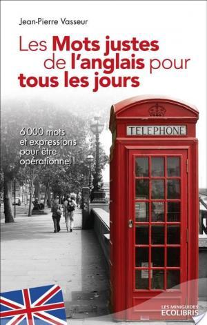 Affiche Les mots justes de l'anglais pour tous les jours (éd. 2013)