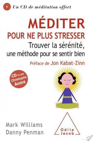 Affiche Méditer pour ne plus stresser (sans CD)