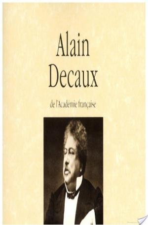 Affiche Dictionnaire amoureux de Alexandre Dumas