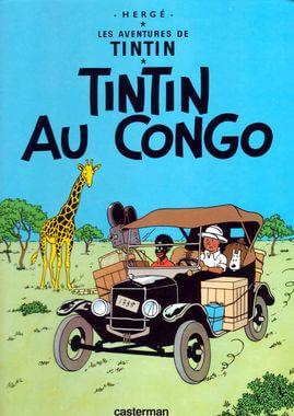 Affiche Tintin au Congo