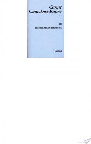 Affiche Carnet Giraudoux-Racine