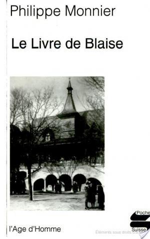 Affiche Le livre de Blaise