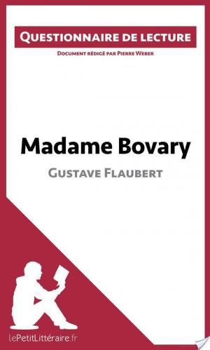 Affiche Madame Bovary de Gustave Flaubert