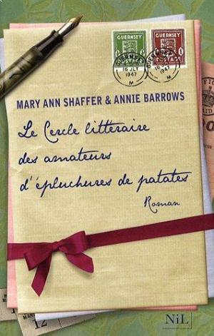 Affiche Le cercle littéraire des amateurs d'épluchures de patates