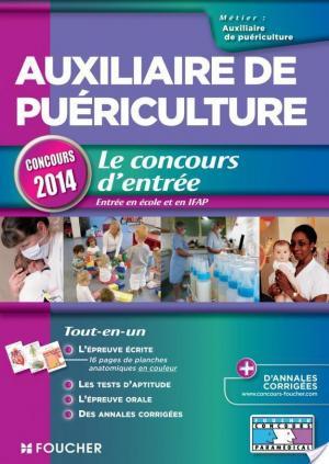 Affiche Auxiliaire de puériculture - Le concours d'entrée concours 2014