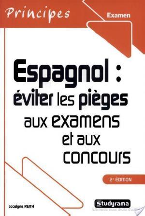 Affiche Espagnol : éviter les pièges aux examens et aux concours