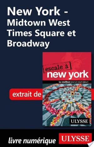 Affiche New York - Midtown West Times Square et Broadway