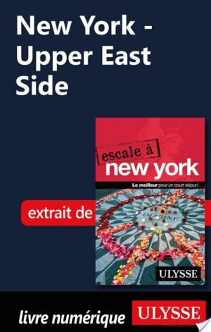 Affiche New York - Upper East Side