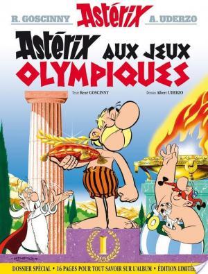 Affiche Astérix - Astérix aux jeux Olympiques - no12 Edition limitée