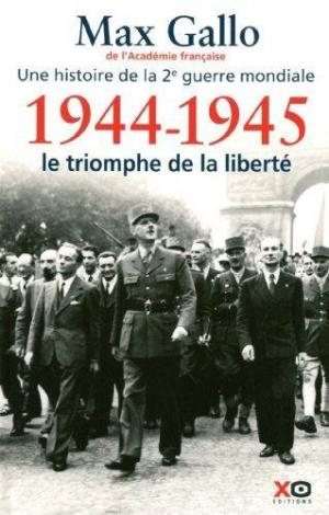 Affiche une histoire de la deuxième Guerre mondiale