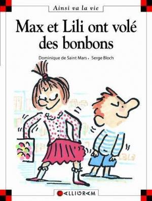 Affiche Max et Lili ont volé des bonbons