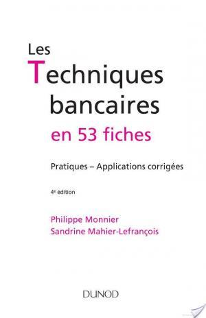 Affiche Les techniques bancaires - 4e éd