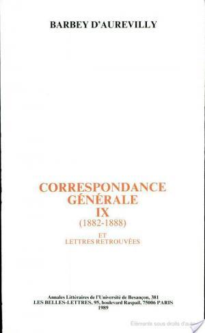 Affiche Correspondance générale