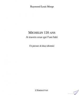 Affiche Michelin 120 ans
