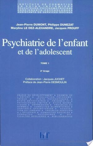 Affiche Psychiatrie de l'enfant et de l'adolescent