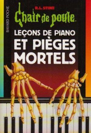 Affiche Leçons de piano et pièges mortels