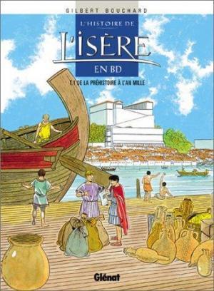 Affiche L'histoire de l'Isère en BD