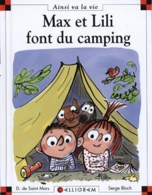 Affiche Max et Lili font du camping