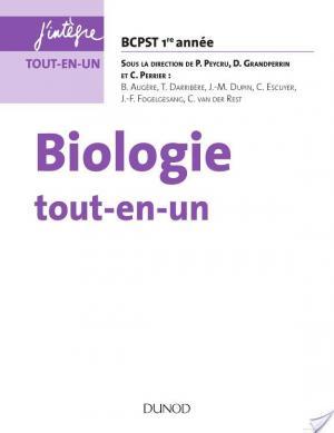 Affiche Biologie tout-en-un BCPST 1re année - 3e éd.
