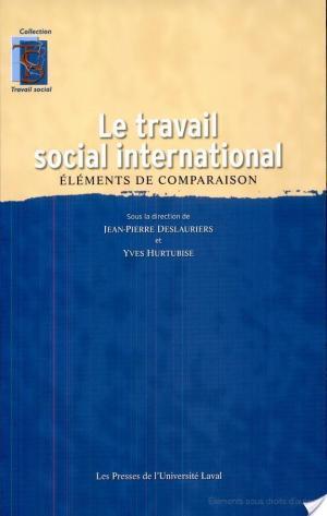 Affiche Le travail social international