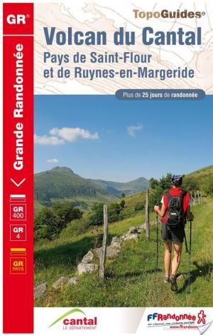Affiche Volcan du Cantal (Pays de Saint-Flour et de Ruynes-en-Margeride) - 25 jours de randonnée