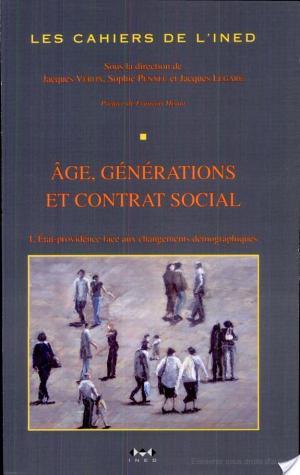 Affiche Âge, générations et contrat social