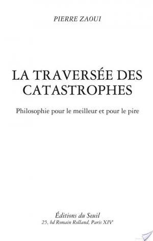 Affiche La Traversée des catastrophes