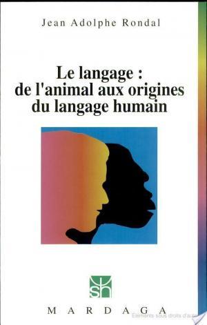 Affiche Le langage