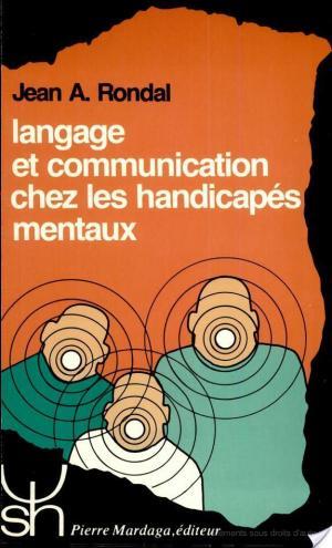 Affiche Langage et communication chez les handicapés mentaux