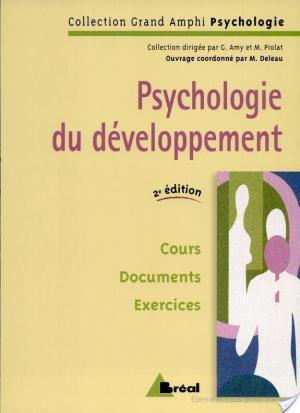Affiche Psychologie du développement