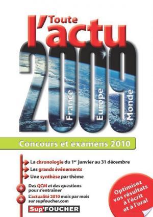 Affiche Toute l'actualité 2009 concours et examens 2010