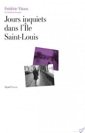 Affiche Jours inquiets dans l'Île Saint-Louis