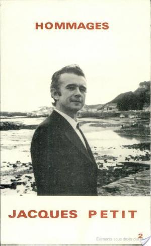 Affiche Hommages à Jacques Petit