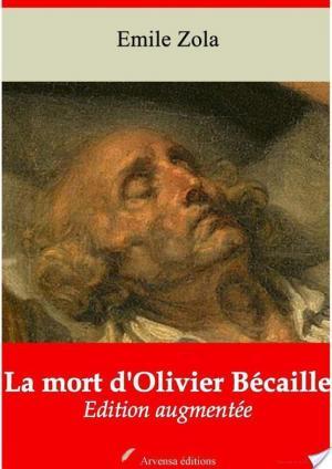 Affiche La mort d'Olivier Bécaille
