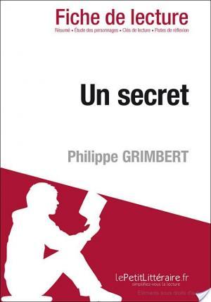 Affiche Un secret de Philippe Grimbert (Fiche de lecture)