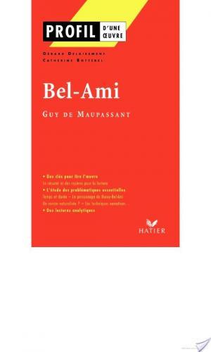 Affiche Profil - Maupassant (Guy de) : Bel-Ami